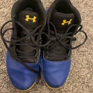 Under Armour lockdown youth shoes